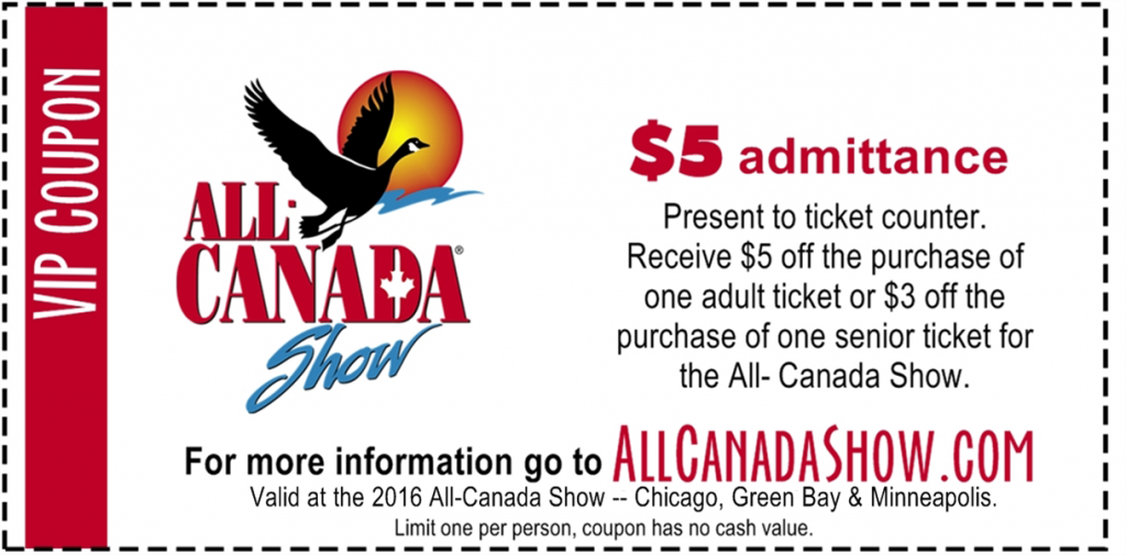 2016 VIP Coupon - AC Exhibitor
