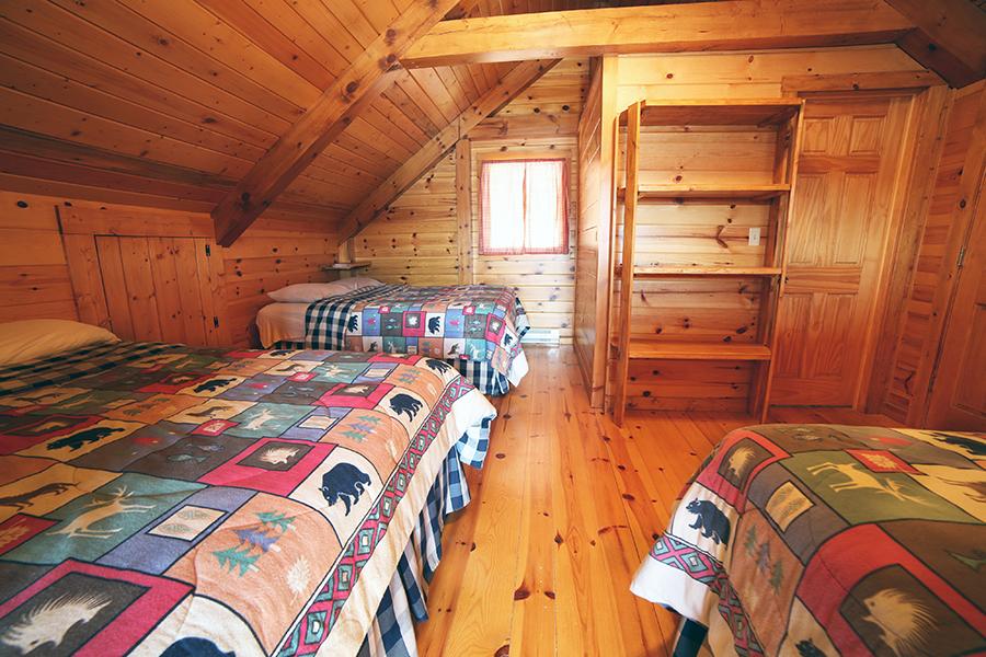 Timber frame loft2sw
