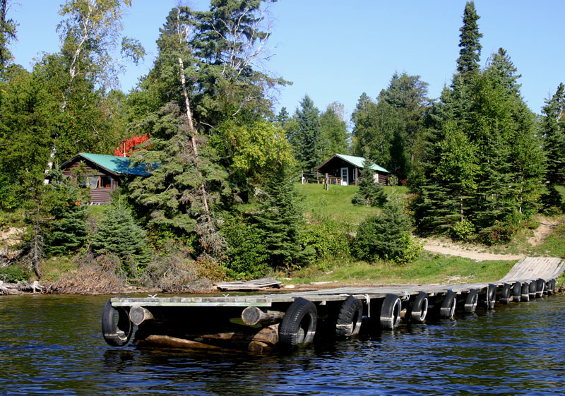 Cliff lake outpost cliff lake resorts for Canada fishing resorts