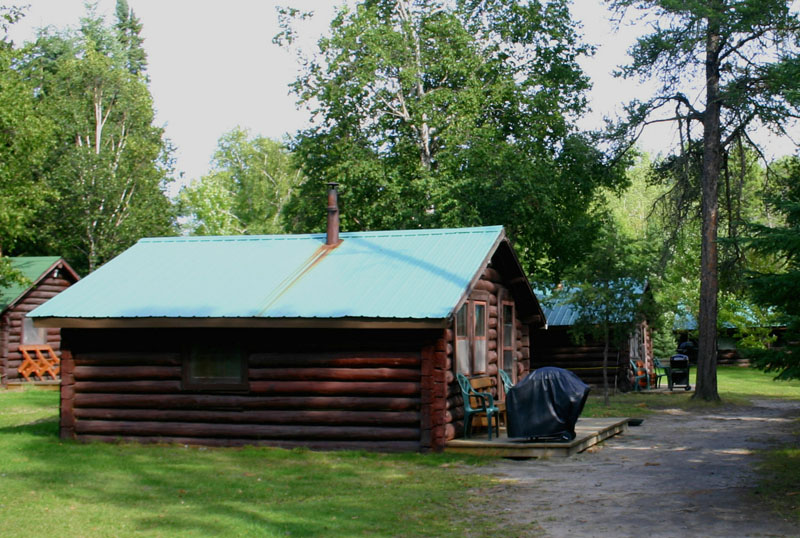 Cliff Lake Outpost authentic one room cabin