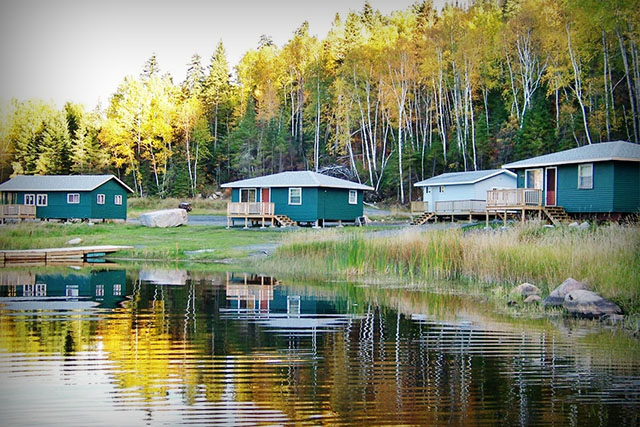 Musky bay camp cliff lake resorts for Canada fishing resorts